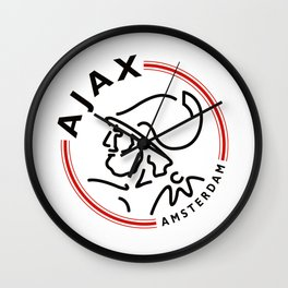 Ajax Amsterdam Wall Clock