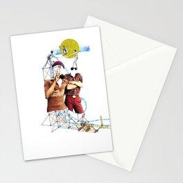 Roller Coaster Stationery Cards