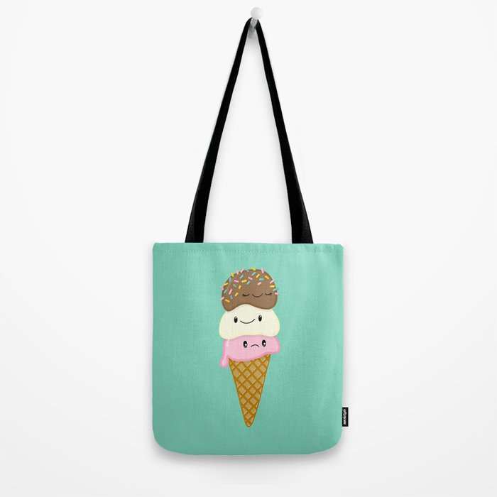 Cute Ice Creams Tote Bag