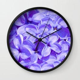 Blue Lilacs by Teresa Thompson Wall Clock