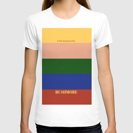 Rushmore minimalist poster T-shirt