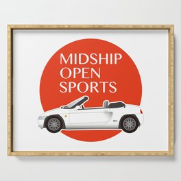 Midship Open Sports Serving Tray