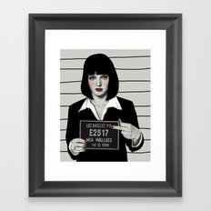 Mia Framed Art Print