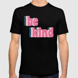 Be Kind Inspirational Anti-Bullying Typography T-shirt