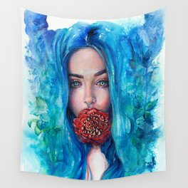 Rose Trap Wall Tapestry