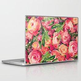 Pretty Peonies Laptop & iPad Skin