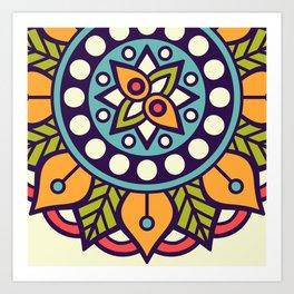 Sacred Mandala Art Print