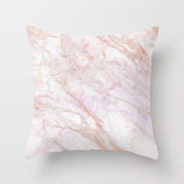MARBLE MARBLE MARBLE Throw Pillow