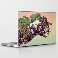 cycle Laptop & iPad Skins featuring Cycle by Anders Teigene