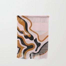 Beautiful Journey - Caramel and Cream Wall Hanging