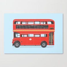 On The Road (Routemaster) Canvas Print