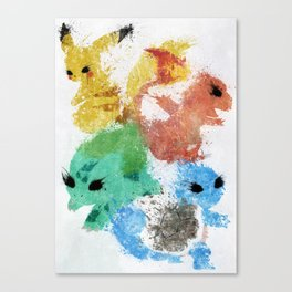 Starters Canvas Print