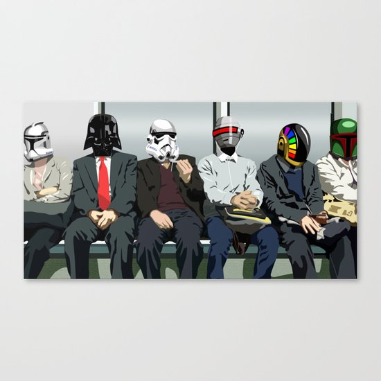 EVERYDAY COMMUTE Canvas Print