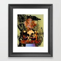 Bugatti Zoo Waitress Framed Art Print