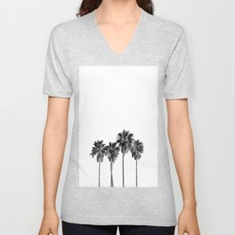 Palm trees 3 Unisex V-Neck