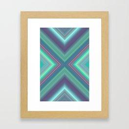 Underwater Emerald Framed Art Print