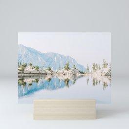 Lone Pine Lake Mini Art Print