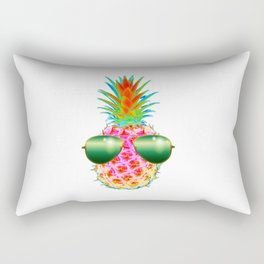 Electric Pineapple with Shades Rectangular Pillow