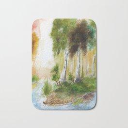 Birch forest Bath Mat