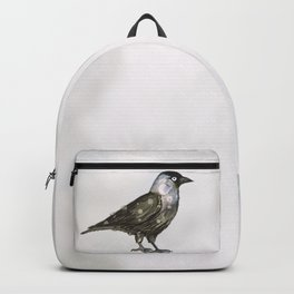 Western jackdaw Backpack