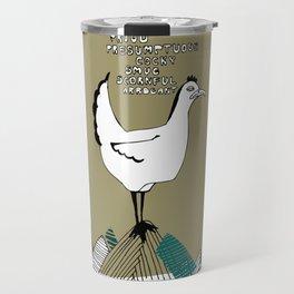 Cocky Cock Travel Mug