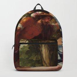 Jacques Blanchard - Mars and the vestal virgin Backpack