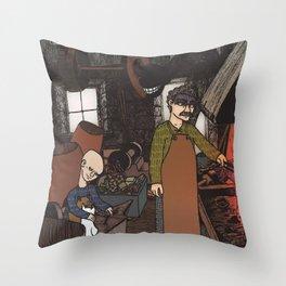 Fucina Throw Pillow