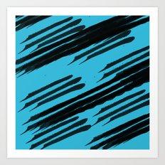 Seeing Stripes Art Print