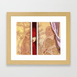 You again... Framed Art Print