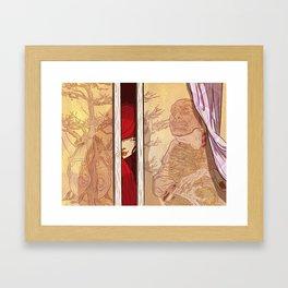 You again... Framed Art Print