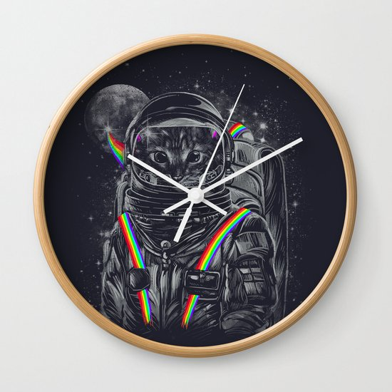 Space Mission Wall Clock