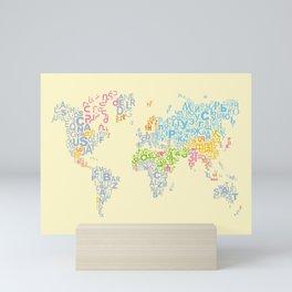 We Are All Writers Mini Art Print