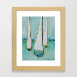 Easy Going Framed Art Print