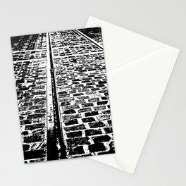 Tram track Stationery Cards