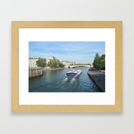 Seine River Framed Art Print