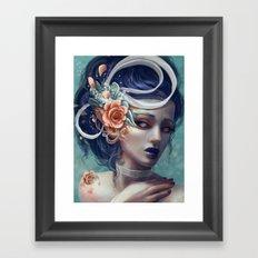 Ribbons and Deciet Framed Art Print