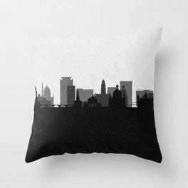 City Skylines: Dresden Throw Pillow