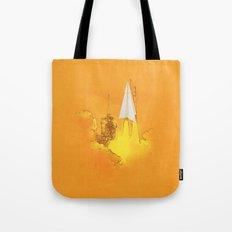 space cuts Tote Bag