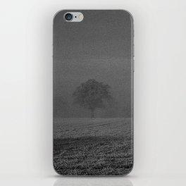 Foggy tree iPhone Skin