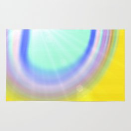 light and colour Rug