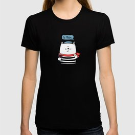 French cat, Le Meow... T-shirt
