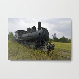 Steam Engine Metal Print