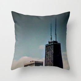 Chi-Town Sky Throw Pillow
