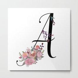 Modern Calligraphy Metal Print