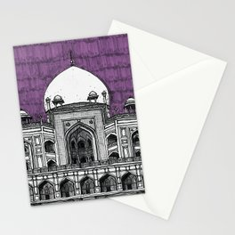 Humayun's Tomb (Tyrian) Stationery Cards