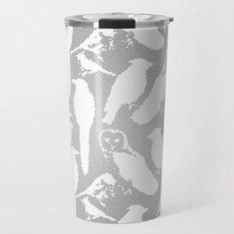 Wild Birds of America mosaic effect Travel Mug