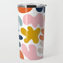 Blob Collage - Multi Travel Mug