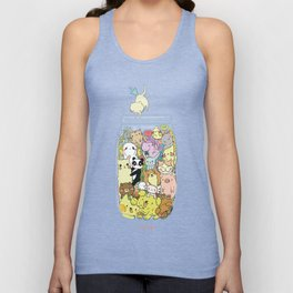 Animal pills Unisex Tank Top