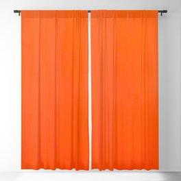 Orange/Coral Ombre Color #decor #society6 #buyart Blackout Curtain