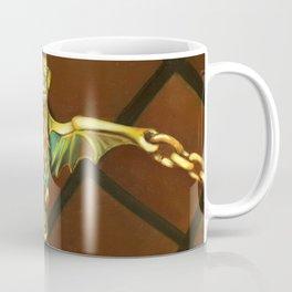 Haunted Mansion Bat Stanchion Coffee Mug